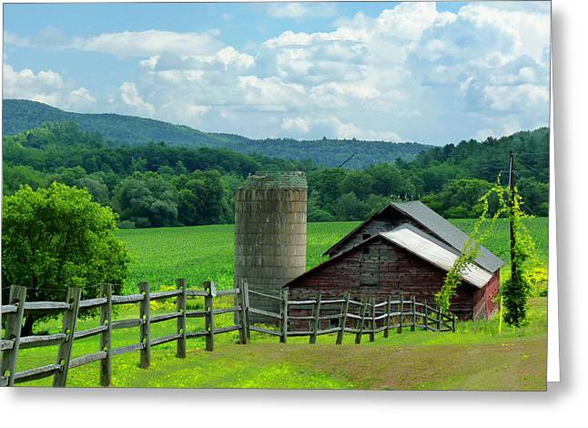 Vermont Welcome Greeting Card