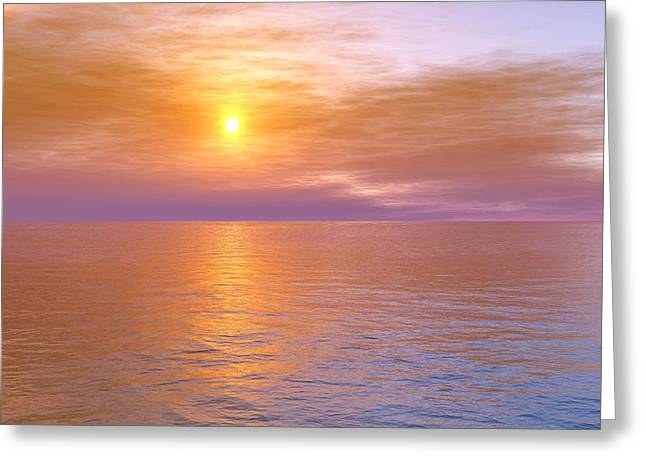 Verona Beach Greeting Card by Mark Greenberg