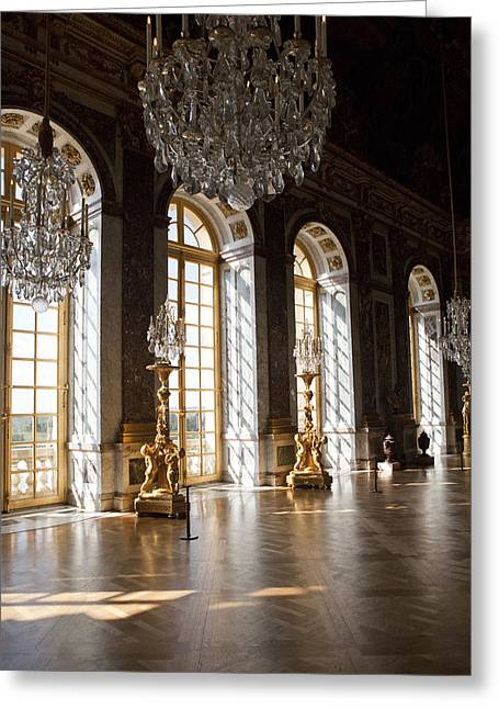 Versailles 2 Greeting Card by Art Ferrier