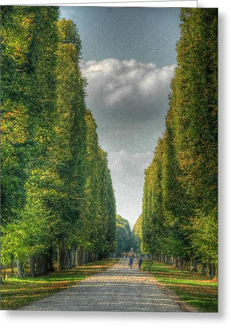 Versailles Promenade Greeting Card