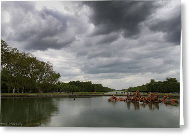 Greeting Card featuring the photograph Versailles Storm by Ross Henton