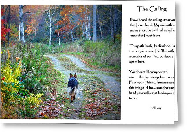 Version Two The Calling Greeting Card