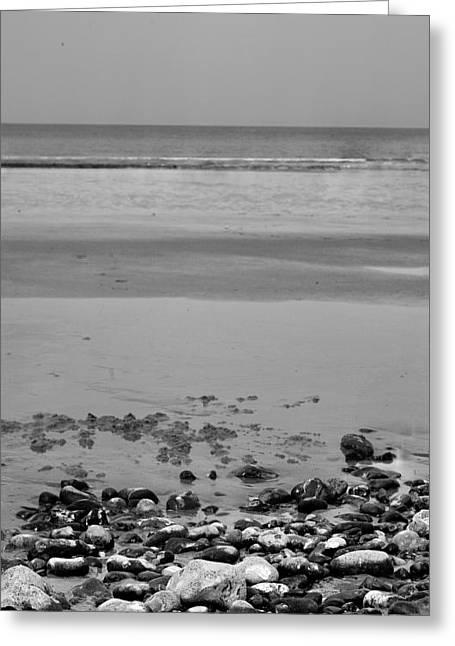 Vertical Beach I Greeting Card by Pedro Fernandez
