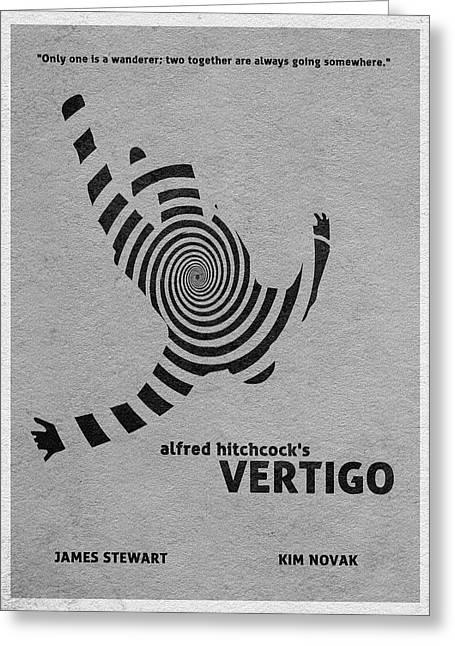 Vertigo Greeting Card by Ayse Deniz