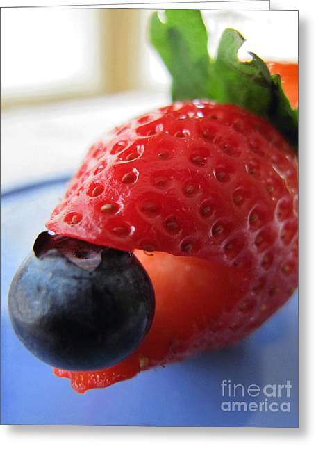 Very Berry Greeting Card