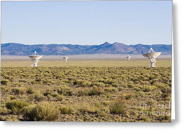 Very Large Array Greeting Card by Steven Ralser