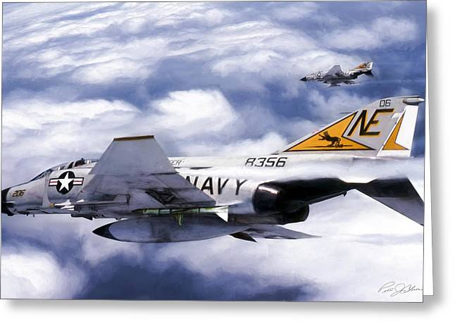 Vf-21 Freelancers Greeting Card by Peter Chilelli