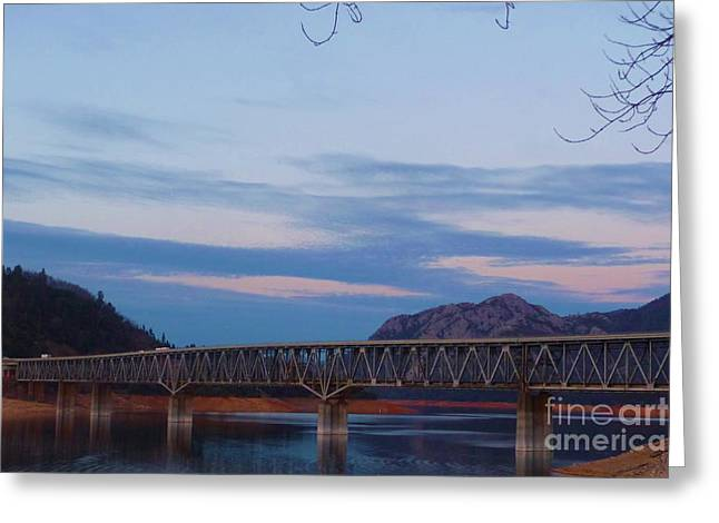 V.f.w. Memorial Bridge Greeting Card by Joshua Greeson