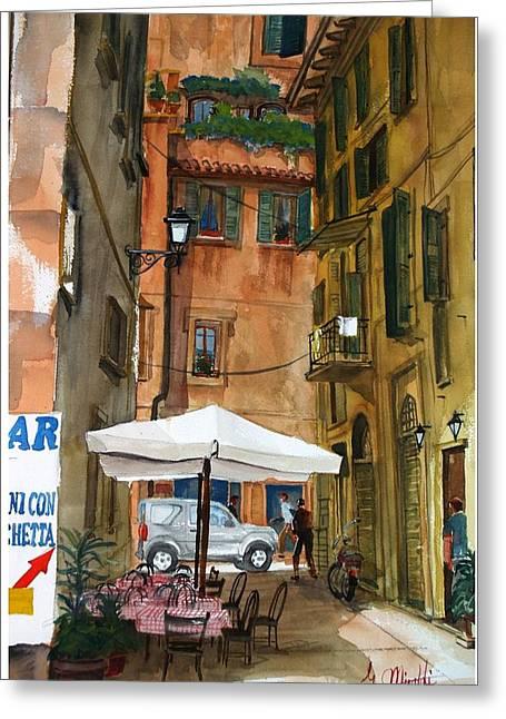 Via Piacenza Greeting Card