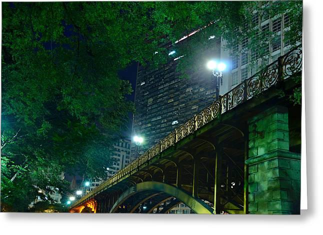 Viaduto Santa Ifigenia -  Sao Paulo Downtown Greeting Card by Carlos Alkmin