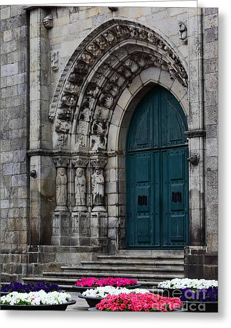 Viana Do Castelo Cathedral Greeting Card by James Brunker