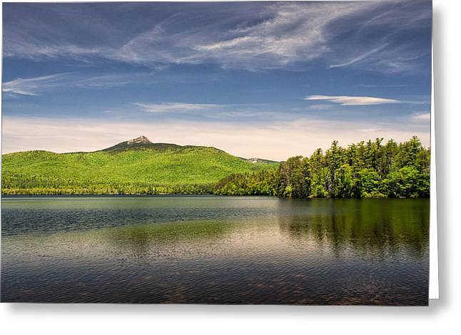 Vibrant Chocorua Greeting Card