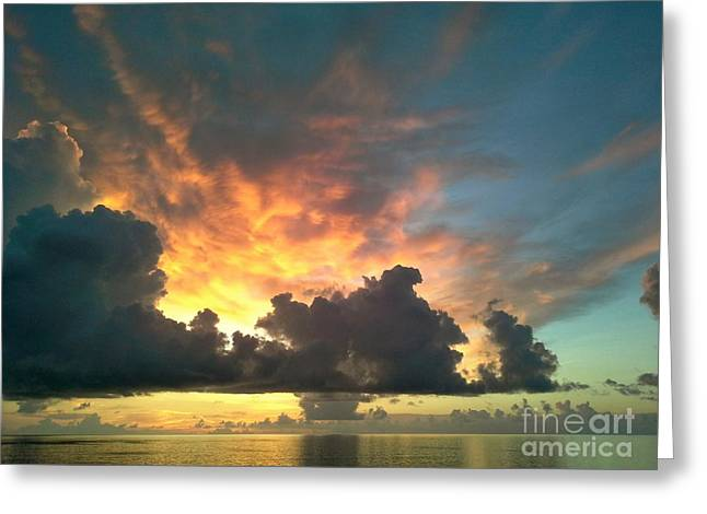 Vibrant Skies Greeting Card by Patricia Awapara