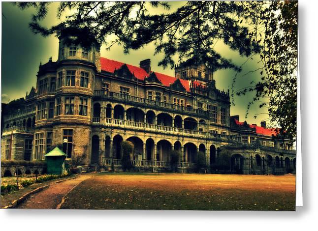 Viceregal Lodge Shimla Greeting Card by Salman Ravish