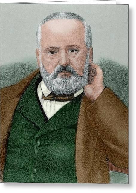 Victor Hugo (1802-1885 Greeting Card by Prisma Archivo