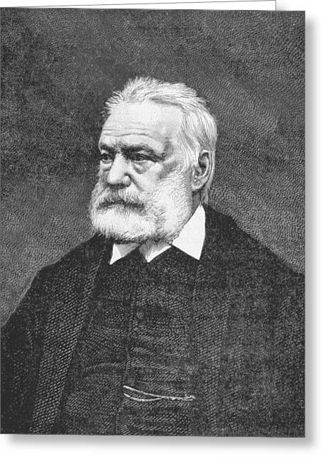 Victor Hugo, French Author Greeting Card by British Library