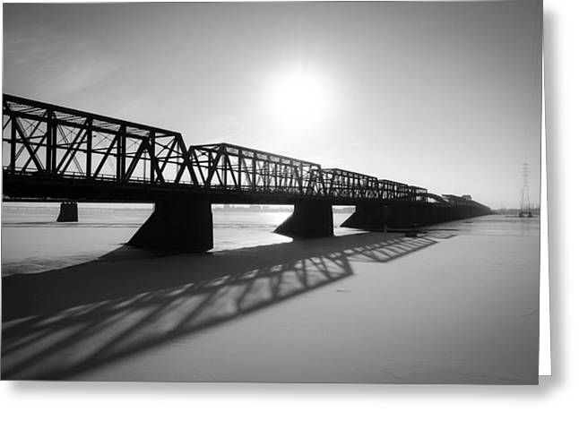 Victoria Bridge 1 Greeting Card by Eric Soucy