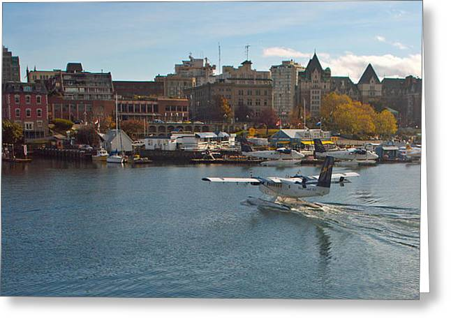 Victoria Landing Greeting Card by Gordon  Grimwade