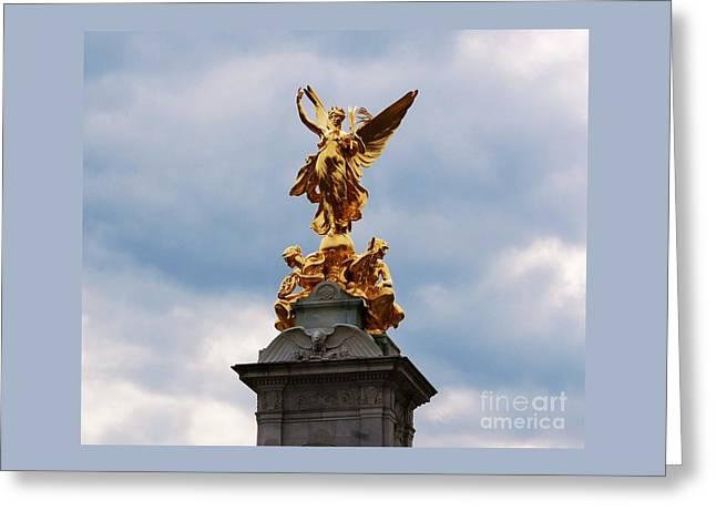 Victoria Memorial Statue London Greeting Card