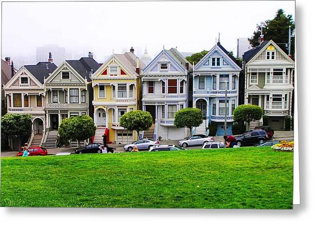 San Francisco Architecture Greeting Card by Oleg Zavarzin