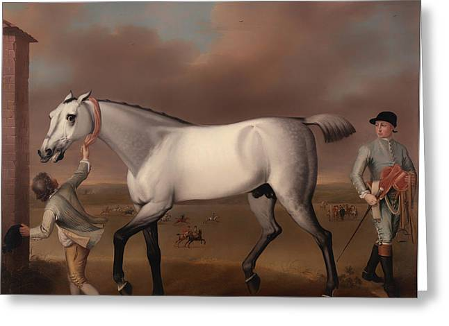 Victorious At Newmarket Greeting Card by Mountain Dreams