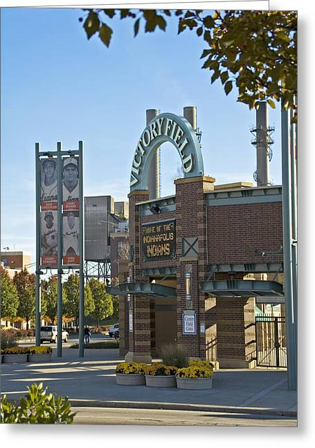 Victory Field Indianapolis Greeting Card