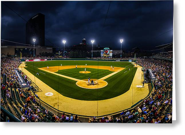 Victory Field Greeting Card
