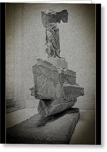 Victory Of Samothrace Greeting Card by Weston Westmoreland