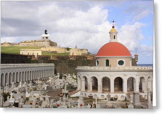 Viejo San Juan Greeting Card