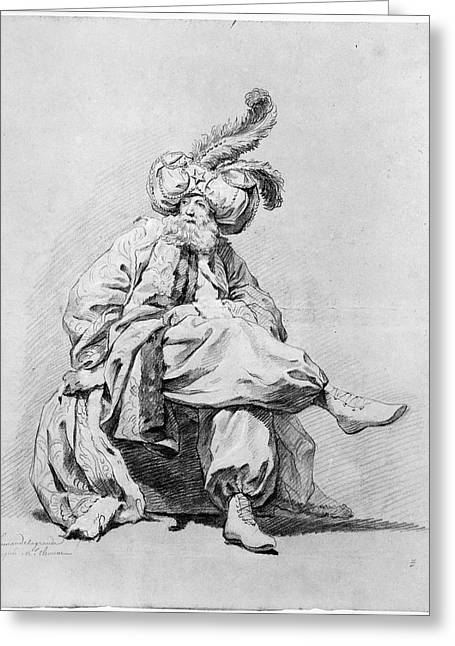 Vien Costume Study, 1748 Greeting Card by Granger
