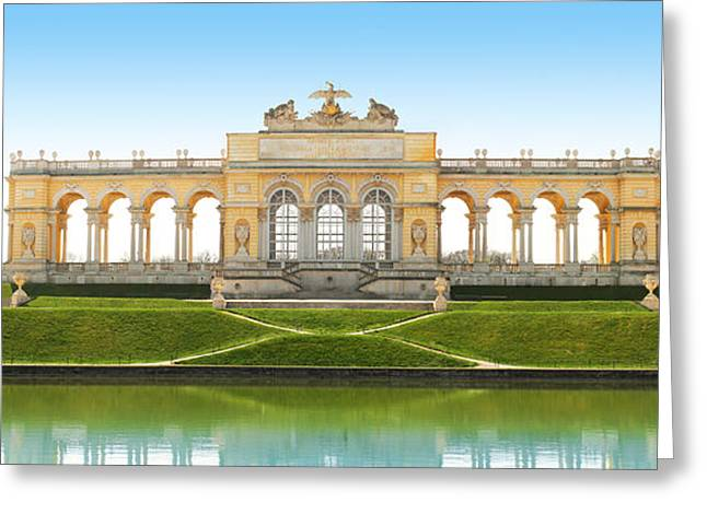 Vienna - Gloriette - Schoenbrunn Greeting Card by Marc Huebner