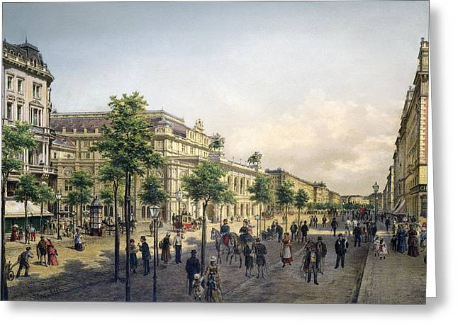 Vienna Opera, 1880s Greeting Card