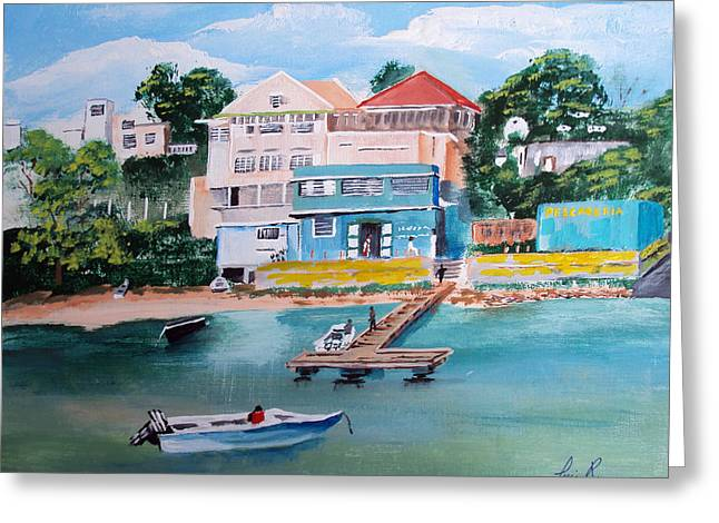Vieques Puerto Rico Greeting Card by Luis F Rodriguez