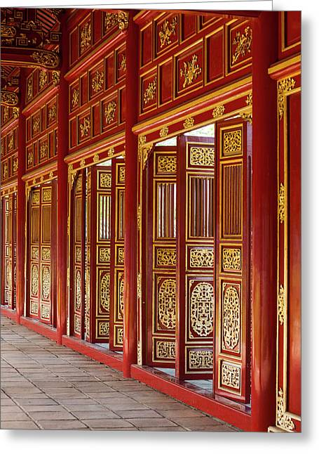 Vietnam, Hue Imperial City Greeting Card