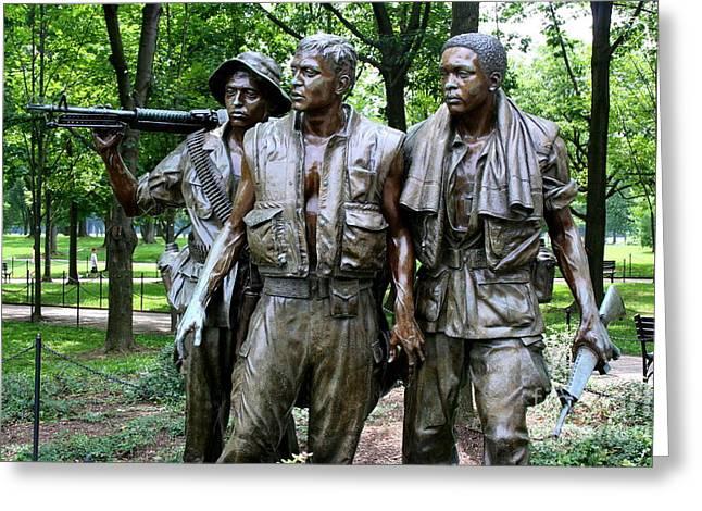 Vietnam Memorial 2 Greeting Card