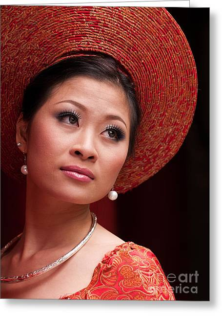Vietnamese Bride 10 Greeting Card