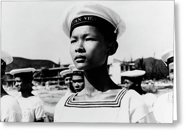 Vietnamese Naval Trainee Greeting Card by Stocktrek Images