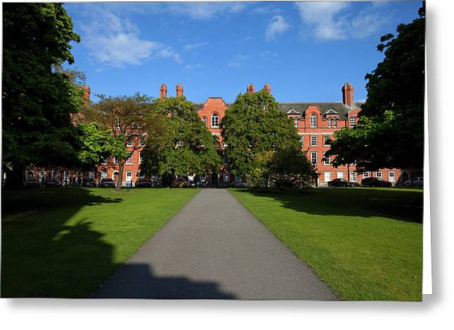 View Across Library Square Greeting Card by Panoramic Images