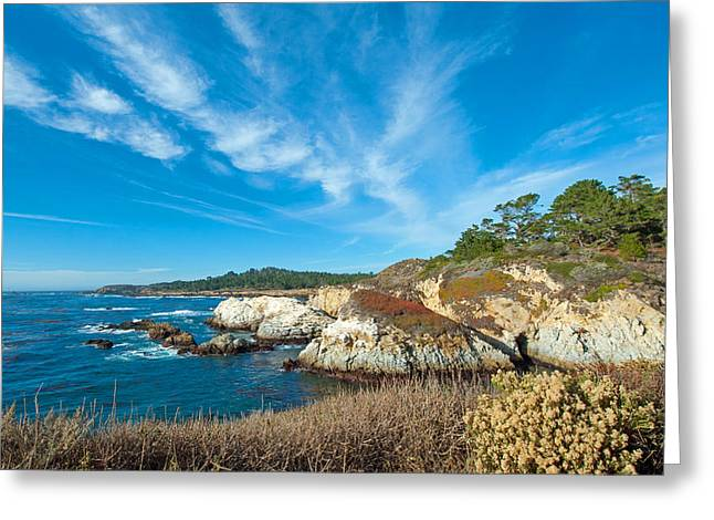 View At Point Lobos Greeting Card