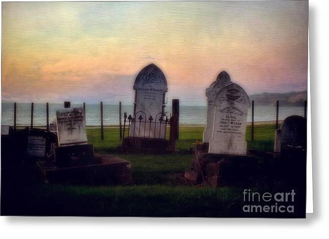 View For Eternity Greeting Card by Karen Lewis