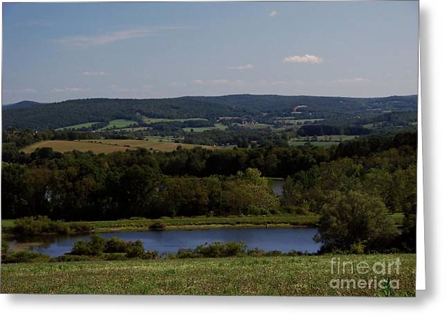 View From Amenia Greeting Card