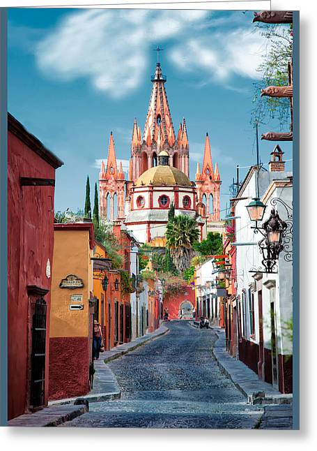 View From Calle Adama Greeting Card
