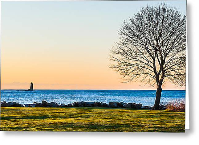 View From Great Island Common Greeting Card