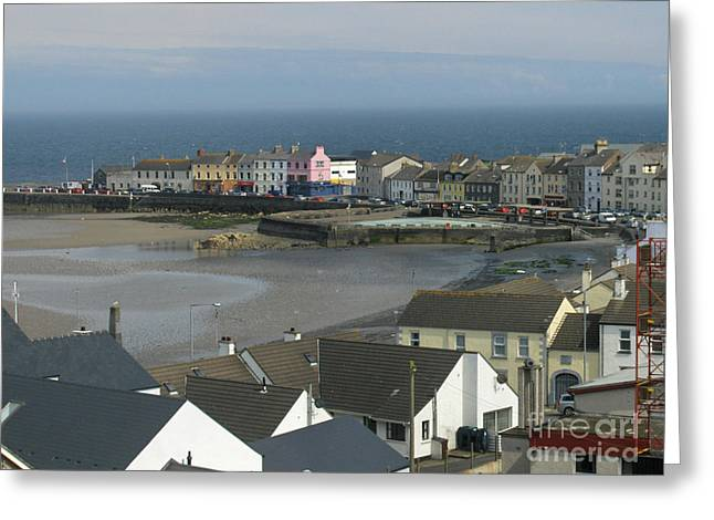 View From Moat Donaghadee Ireland Greeting Card by Brenda Brown