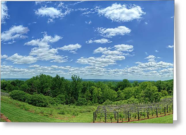 View From Monticello Greeting Card