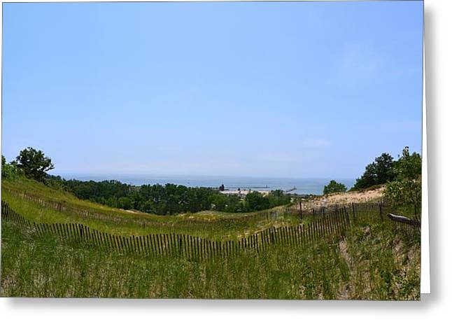 View From Mount Pisgah Greeting Card