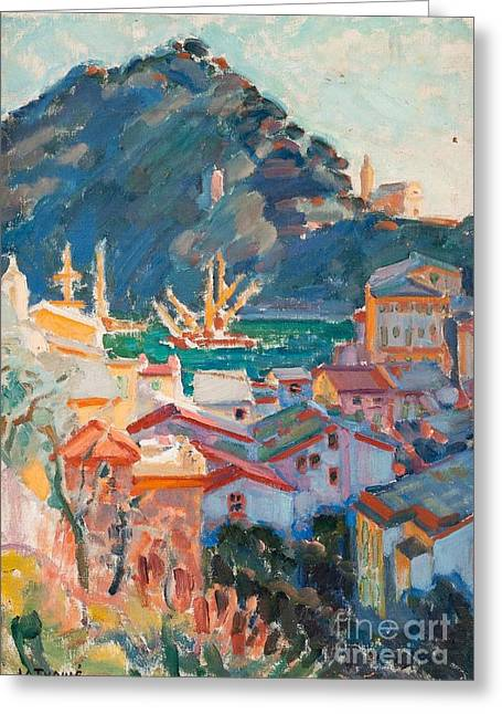 View From Portofino Greeting Card