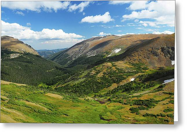 View From The Alpine Visitor Center Greeting Card by Michel Hersen