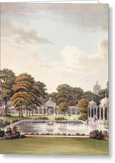 View From The Dome, Brighton Pavilion Greeting Card