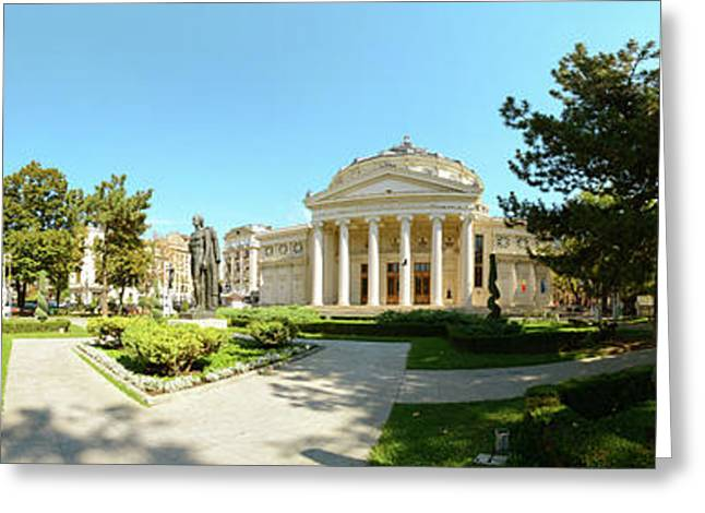 View Of A Concert Hall, Romanian Greeting Card by Panoramic Images